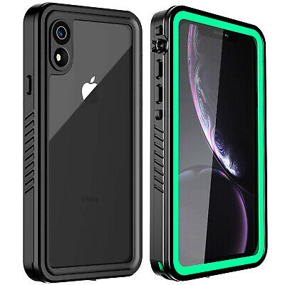 For Apple iPhone XR Waterproof Case Military Shockproof Outdoor Sports XS MAX