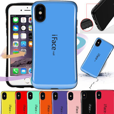 For iPhone XS MAX XR 6S 7 8 Plus Heavy Duty iFace Mall Shockproof TPU Case Cover