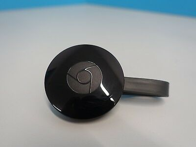 Google Chromecast 2nd Generation WiFi 1080P Wireless HDMI Media Streamerv(615043