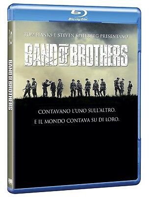 Blu-Ray Band Of Brothers - Fratelli Al Fronte (6 Blu-Ray) 2003 Tv - serie Hbo -