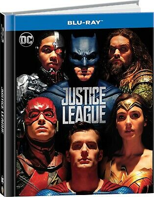 Blu-Ray Justice League (Digibook) 2017 Film - Fantascienza Warner Home Video - N