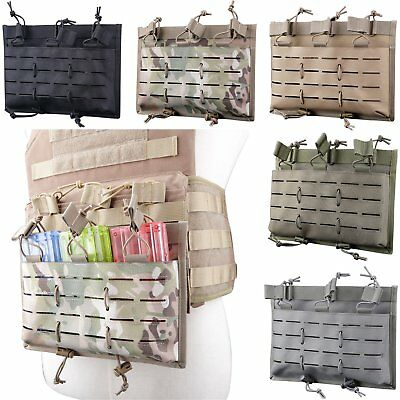 Laser Cut 5.56 Magazine Pouch Molle Mag Tactical Airsoft 1000D Nylon Collocation