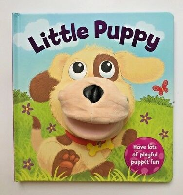 Little Puppy Hand Puppet Board Book By Igloo Kids Ages 2+ Year Birthday Gift New