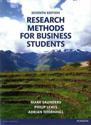 Research Methods for Business Students by Mark N. K. Saunders 9781292016627