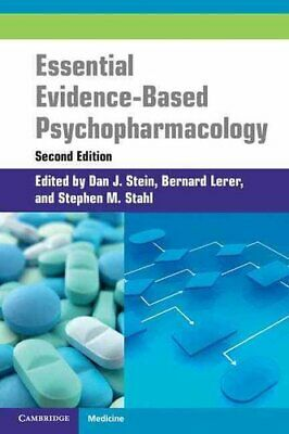 Essential Evidence-Based Psychopharmacology by Dan Stein 9781107400108