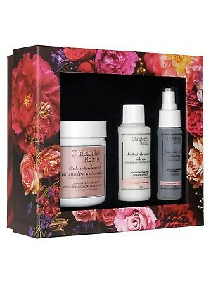 CHRISTOPHE ROBIN Volumizing Gift Set Worth £75 Fine Hair Rose Mothers Day Gift