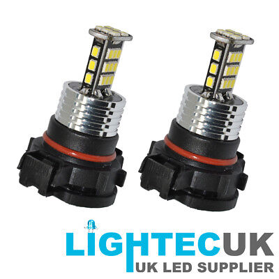 2000Lm 60W Pure White Canbus H16 Ps19W Psx24W Led Daytime Fog Light Drl Bulb