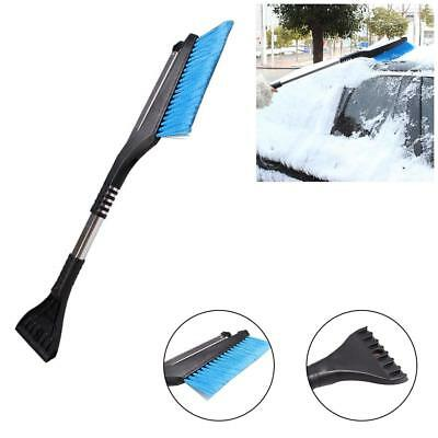 Extendable Snow Brush and Ice Scraper,2-in-1 Snow Broom for Cars, Trucks, SUVs