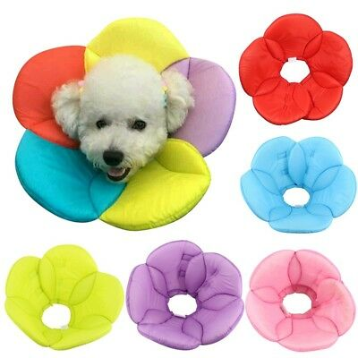Inflatable Soft Collar Dog E-Collar Pet Medical Wound Cone Elizabethan Protect