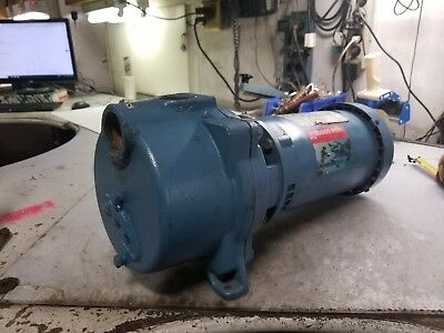 "GOULDS 3 HP WATER WELL JET PUMP 208-230/460 VAC 3450 RPM 1.5"" x 1.5"" GT303TE"