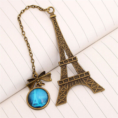 Eiffel Tower Metal Bookmarks For Book Creative Item Kids Gift Stationery YL