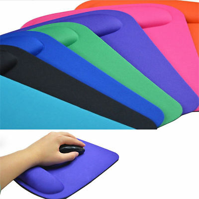 Non-Slip Ergonomic Comfort Mouse Pads Mice Mat Wrist Rests Computer PC Laptop