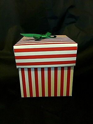 candy stripe boxes for birthday party any occasions gift party bag box polar