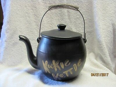 "Cookie Jar Rare Vintage 1960's  USA  McCoy  ""KOOKIE  KETTLE""   Tea Pot"