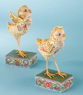 Heartwood Creek Jim Shore  SPRING CHICKS FIGURINES NEW BOXED
