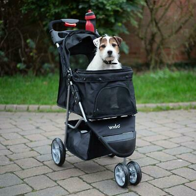 Pet Stroller Dog Puppy Cat Pushchair Accessory Buggy Toy Carrier Travel Wido