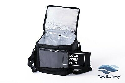 Logo your Delivery Bag Insulated Take-away Thermal Hot Food Deleveries Bags T161