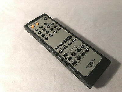 Genuine Onkyo RC-777C Replacement Remote Control For DX-C390