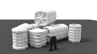 Small Cargo Containers