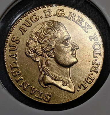 Poland 1789 Dukat Gold Plated (commemorative coin)