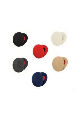 Sprigs Fleece Earbags Lined with Thinsulate-Navy-Large-NEW