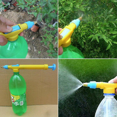 new plastic interface juice water mini sprayer gun pressure bottles interface、3C