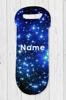 Stars Personalised Water Bottle Cooler Carry Bag