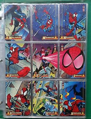 1994 Amazing Spider-Man complete trading card set #1-#150