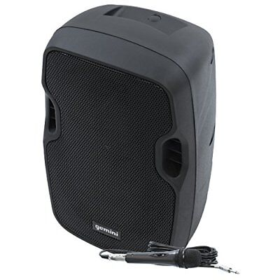 """Gemini AS08TOGO 8""""rechargeable Powered Speaker"""