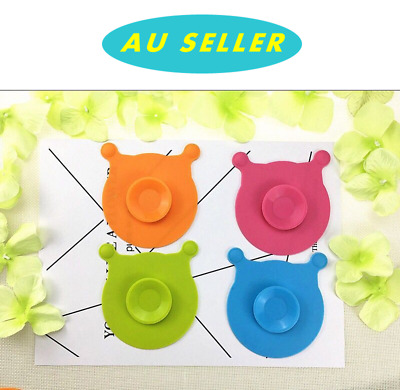 1/2 PCS Baby Bear Head Silicone Feeding Bowl Cup Anti-slip Suction Stay Placemat