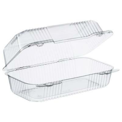 Dart DCCC35UT1 Staylock Clear Hinged Lid Containers, 5.4 X 9 X 3.5, Clear,