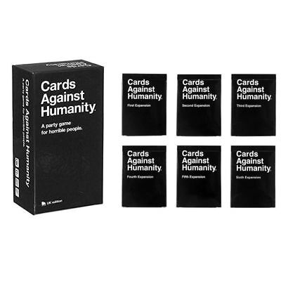 Cards Against Humanity Main Game Expansions Complete Set BLACK FRIDAY CAH 2018