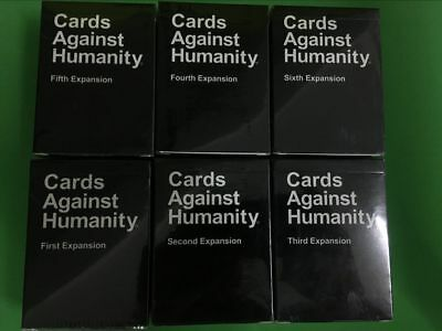 NEW Stock UK Cards Against Humanity 1-6th Expansion Board Card Party Family Game