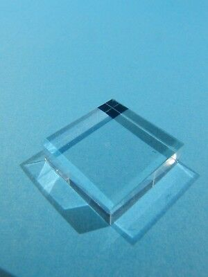 Small Acrylic Display Base for Minerals etc. 2 x 2 cm. Ten (10) Bases.