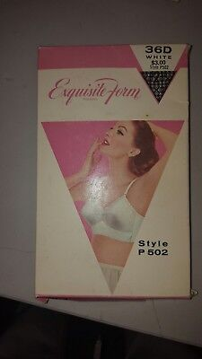 Vintage White Exquisite Form Bullet Bra 36d white circle stitch pin up clothing