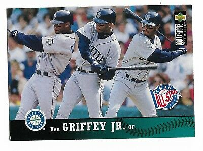 adc6aad79c 1997 Upper Deck Collector's Choice # 230 Ken Griffey Jr SEATTLE MARINERS