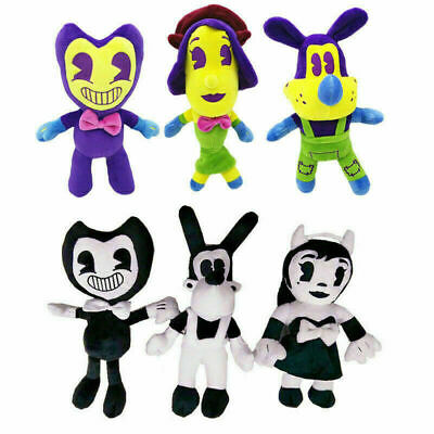 Bendy and the Ink Machine Series Figure Bendy Boris Plush Toys Dolls Gifts WC