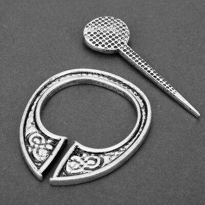 Medieval Hollow Pin Viking Brooch Buckle Apron Cloak Celtic 1PC Fashion Jewelry