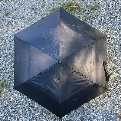 Black compact Umbrella with Airvent.   auto open/close.  NWT  free shipping