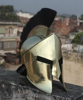 300 Hollywood Movie King Leonidas Spartan Helmet Medieval Halloween Costume Gift