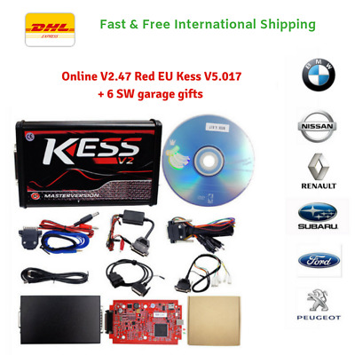New version KESS V5.017 SW 2.47  Master ECU China clone Online No Token + 6gifts
