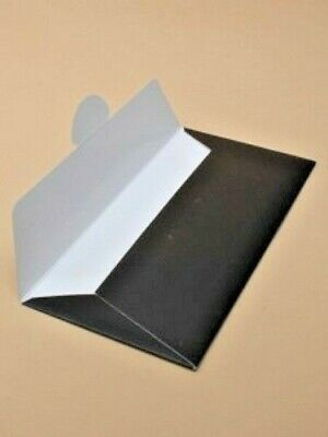 Black Card Gift Voucher Wallet Envelope Wedding Birthday Money DL 21.5x10.5CM
