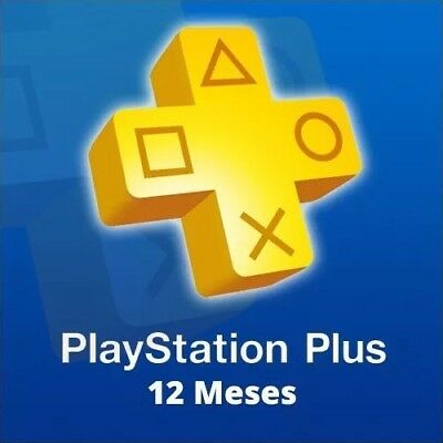 PlayStation Plus / PSN Plus / 12 Meses / 1 Año / CONTACTAR ANTES