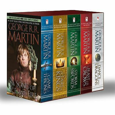 A Game of Thrones Set: by George R. R. Martin MASS MARKET PAPERBACK 2013, NEW