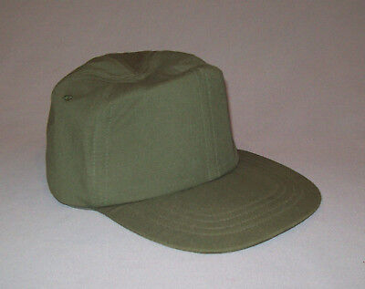Vtg 1980s Post Vietnam War NOS US Army Hat Cap OG 107 Hot Weather Size 7 1/8