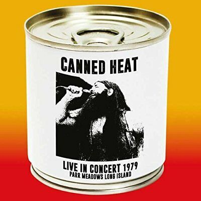 Canned Heat - Live In Concert 1979: Parr Meadows Long Island (2015)  CD  NEW
