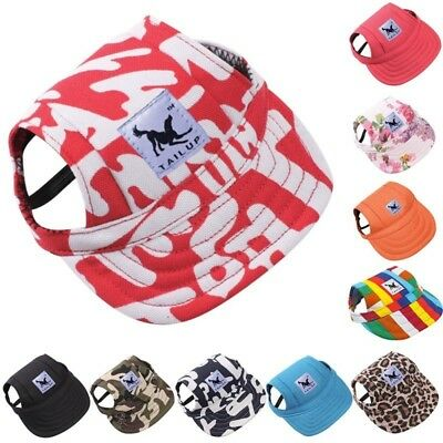 Pet Dog Baseball Cap Sports Windproof Travel Sun Hats for Puppy Large Dogs Hat