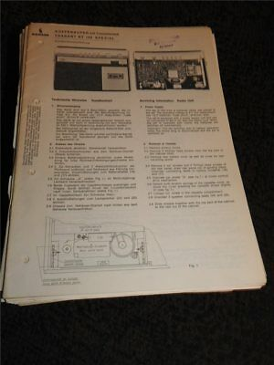 Service Manual  Siemens Trabant RT 150 Spezial