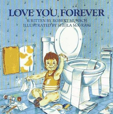 Love You Forever by Robert Munsch (1995, Hardcover) xlibrary book