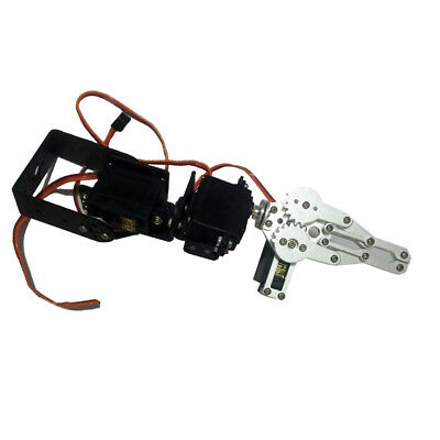 3-DOF Mechanical Robot Arm Clamp Claw Manipulator DIY Kit - Arduino Robotics